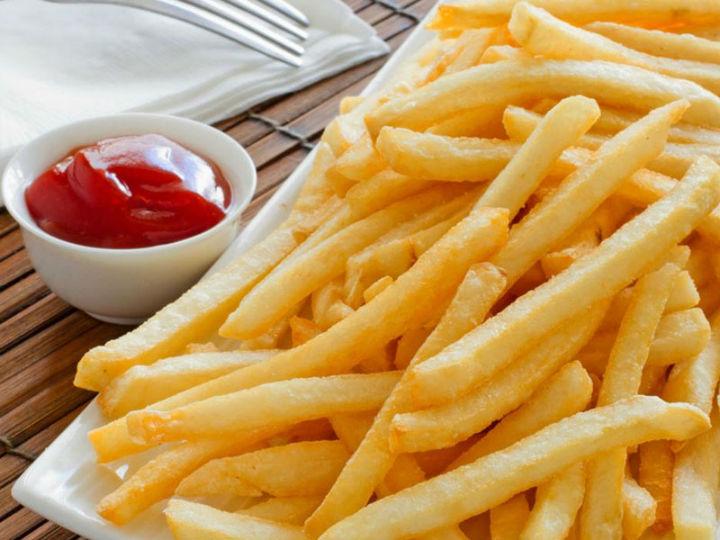 极客美食:香脆可口—空气炸锅版炸薯条